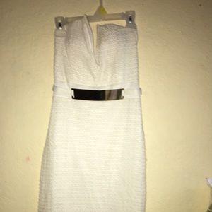 White dress!!